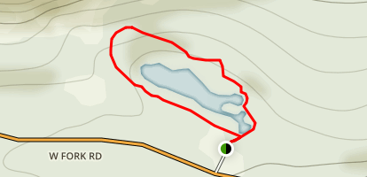 Wild Bill Lake Loop Map