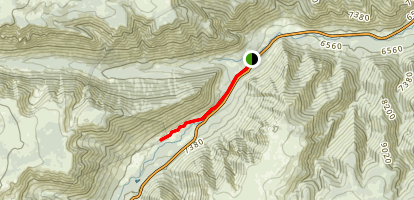 Rock Creek Streamside Trail Map