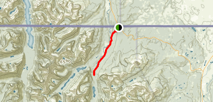 Belly River Trail  Map