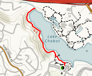 Dan Foley Park Lake Chabot Trail Map