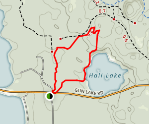 Graves Hill Map