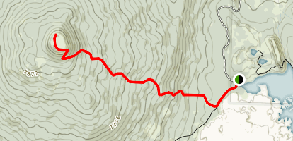 Prospect Peak Trail Map