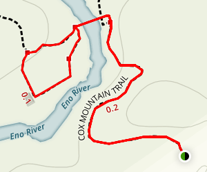 Eno Trace Trail Map