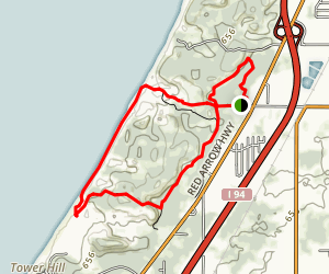 Warren Dunes Trail Map
