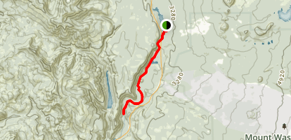McKenzie River National Recreational Trail: Clear Lake to Trail Bridge Map