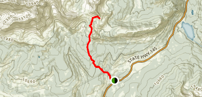 Cross Mountain Trail Map