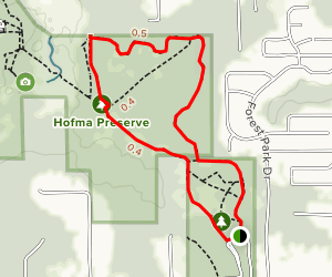 Hofma Park Trail Map