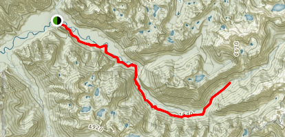Middle Fork Snoqualmie River Trail Map
