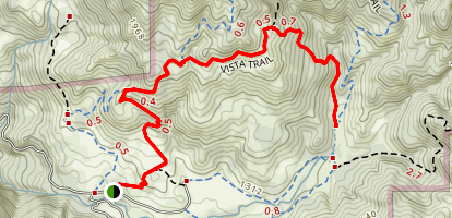 Vista Trail Map