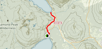 Odell & Crescent Lakes Area Campgrounds Map