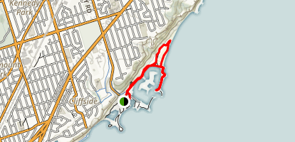 Scarborough Bluffs Trail Map