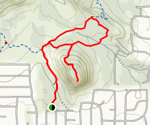 Sugarloaf Loop Trail Map