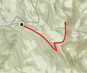 Vulcan Peak Trail Map