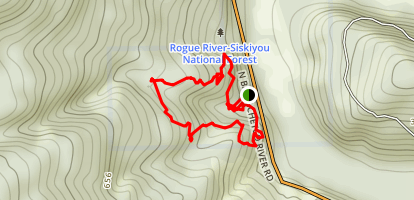 Redwood Nature Trail Map