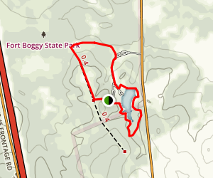 Fort Boggy State Park Trail Map