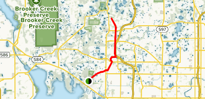 Upper Tampa Bay Trail Map