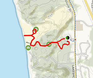Rosy Mound Natural Area Trail Map