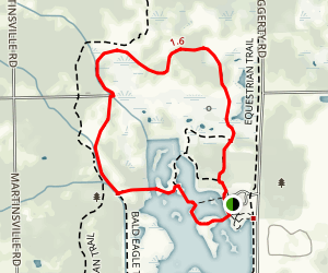Blue Heron Trail Loop Map