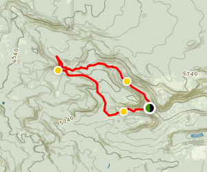 Tumalo Falls Loop Map