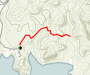 China Gulch Trail Map