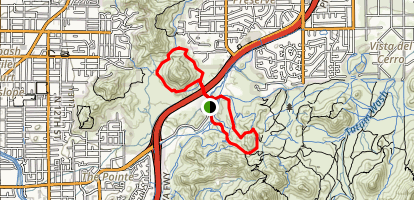 Dreamy Draw Loop Trail Map
