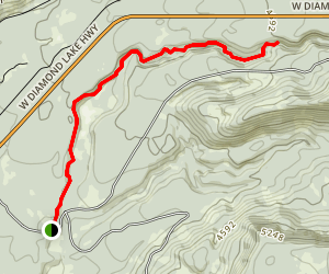 Rough Rider Falls Trail Map