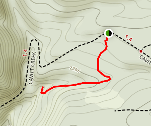 Shadow Falls Trail Map
