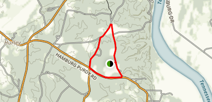 Shiloh Monuments Hike Map