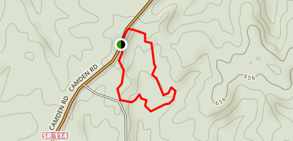 Fairview Gullies Loop Trail Map