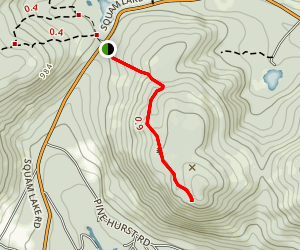 Old Bridle Path Map