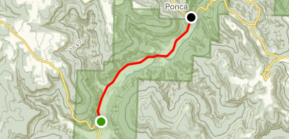 Boxley Valley Scenic Drive Map