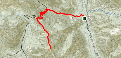 Koppen Mountain Trail Map