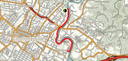 Rivanna River Trail Map