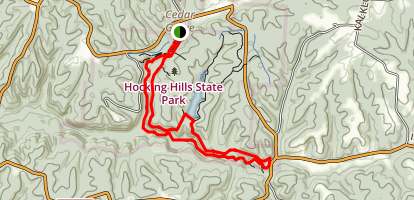 Buckeye Trail and Gorge Overlook Loop Map