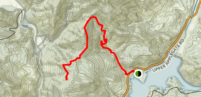 Collings Mountain Trail Map