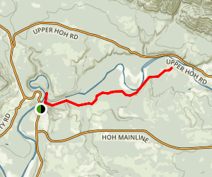 Hoh Trail Map