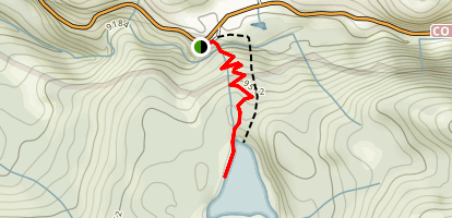 Weller Lake Trail Map