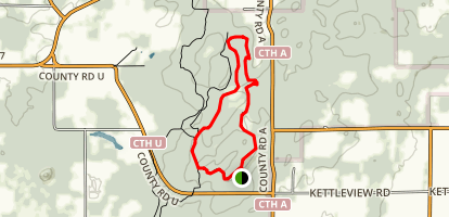 Parnell Tower Trail Map