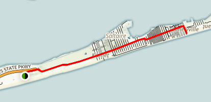 Fire Island Lighthouse Trail Map