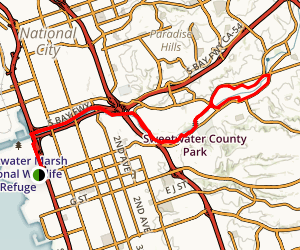 Chula/Bonita Trail Map