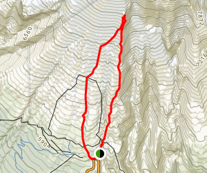 Mount Hood Meadows Loop Map