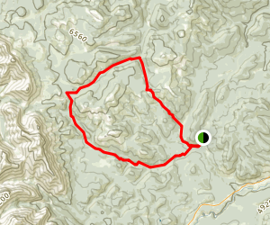 Gorge Creek Loop Map