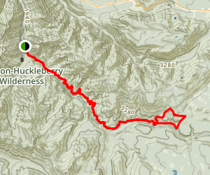 Salmon River Trail Map