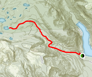 Brown Duck Lake Trail Map