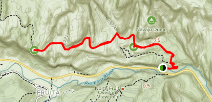 Rim Overlook Trail Map