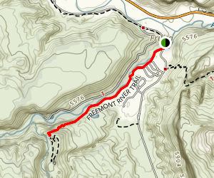 Fremont River Trail Map