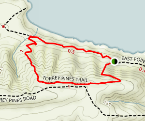 Torrey Pines Trail Map
