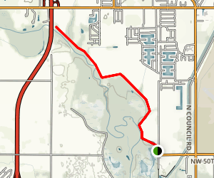Stinchcomb Wildlife Refuge: East Trail Map