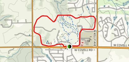 Mitch Park Trail Map