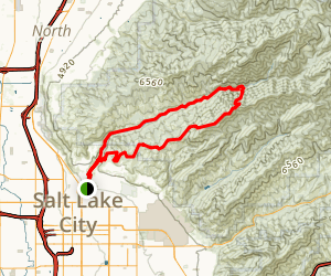 Wasatch Steeplechase Map